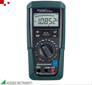 M240A | Metrahit X-TRA Multimeter, Hand 4 ½ Stellen, 12.000 Digits, IR-Interface, DAkkS
