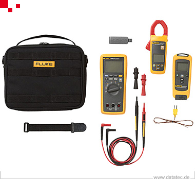 FLK-3000FC/HVAC | Multimeter, Hand 4 Stellen, LCD Display HVAC -System, Fluke Connect