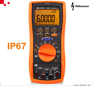 AT1147 | Sonderposten U1282A, Multimeter, Hand 4½ Stellen, Dual Display, 60.000 Digits, Counter, Vse