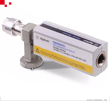 N8486AQ | Power Sensor, waveguide - Thermocouple, average, 33 to 50 GHz