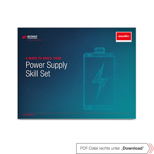 eBook 5992-2716EN | 4 Ways to Build Your Power Supply Skill Set.