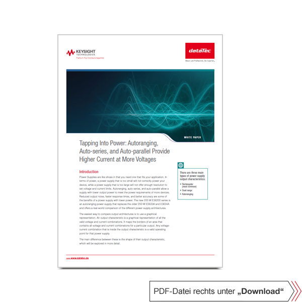 Application Note 5992-40491EN | Tapping Into Power.